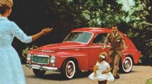 Volvo P544 Retro Mainos